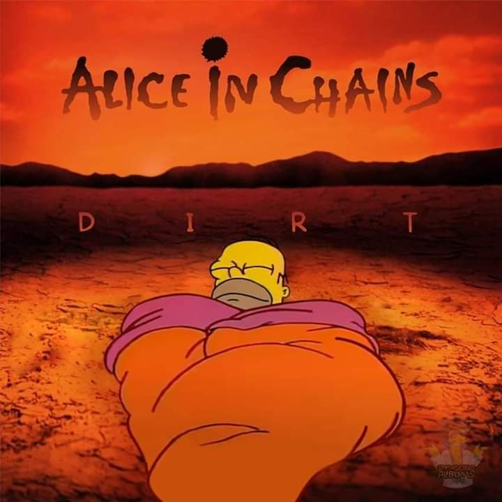 Las mejores portadas de rock alice in chains simpson