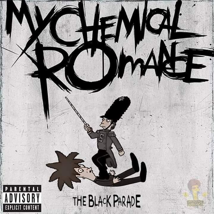 Las mejores portadas de rock my chemical romance simpson