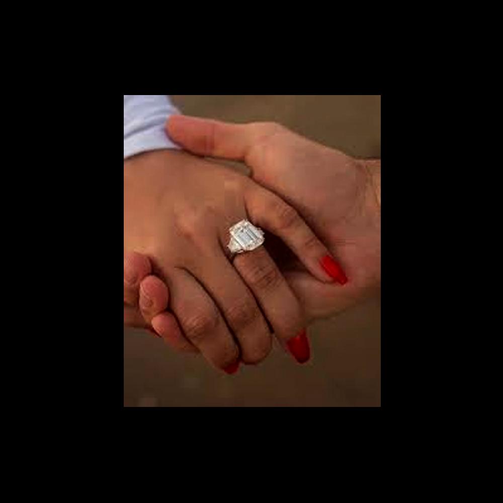 Demi Lovato anillo de matrimonio