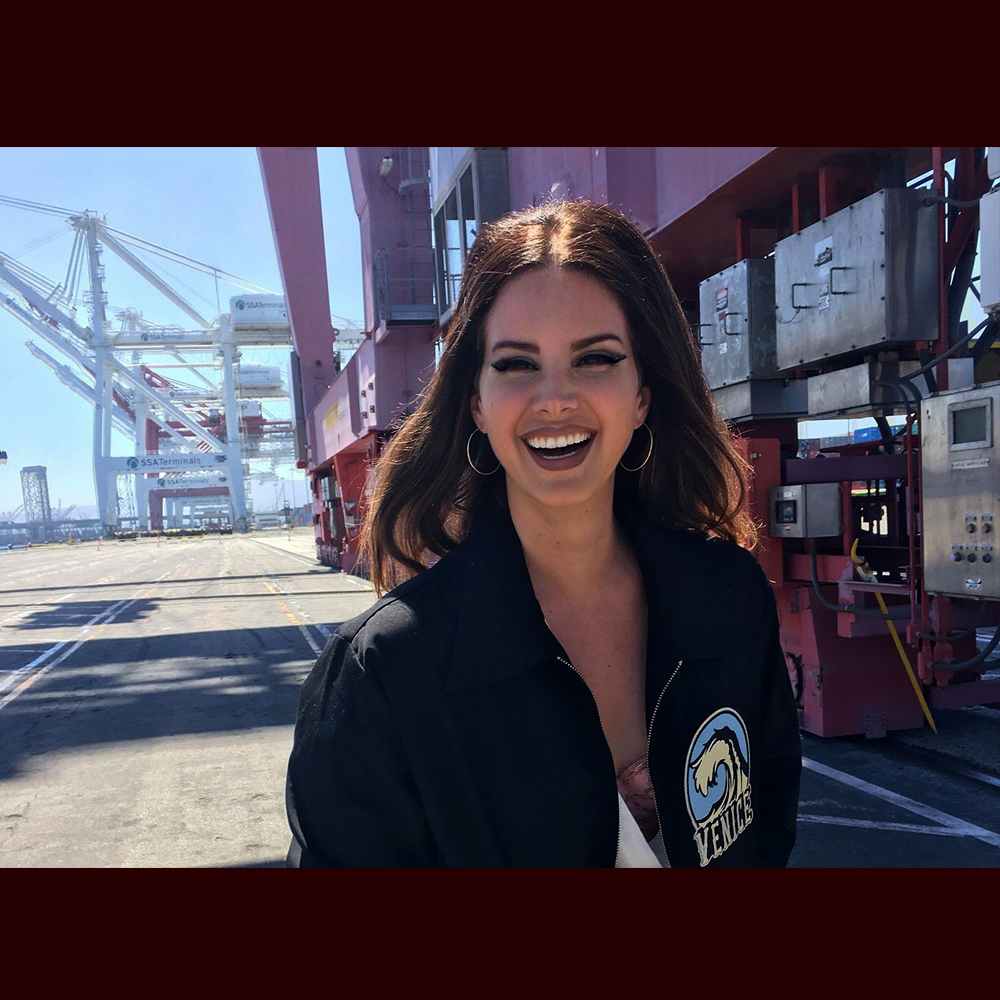 Lana del Rey famosa
