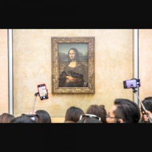 LA MONA LISA En el museo