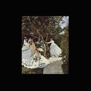 Monet Femmes au jardin
