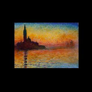 Monet Saint Georges Majeur au Crepuscule
