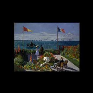 Monet La terraza de Saint Andresse