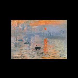 Monet Impression, soleil levant