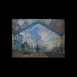 Monet La Gare Saint Lazare