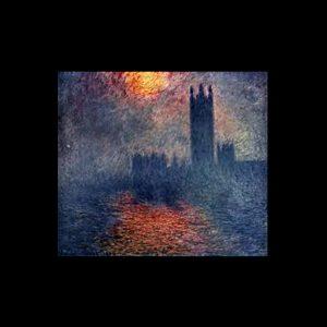 Monet Los parlamentos de Londres