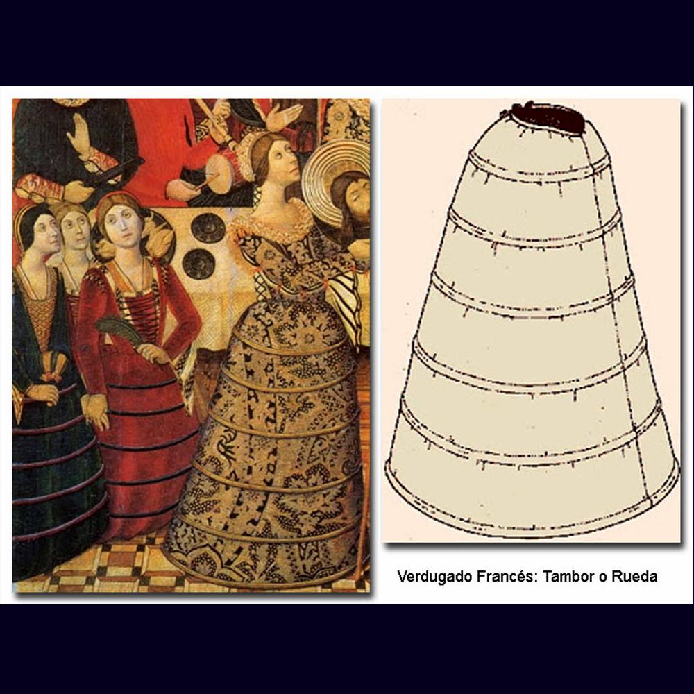 Renacimiento falda