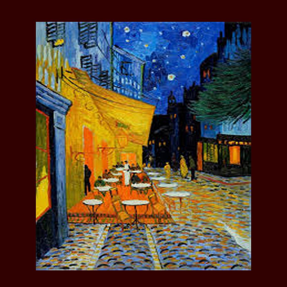 La noche estrellada pintura