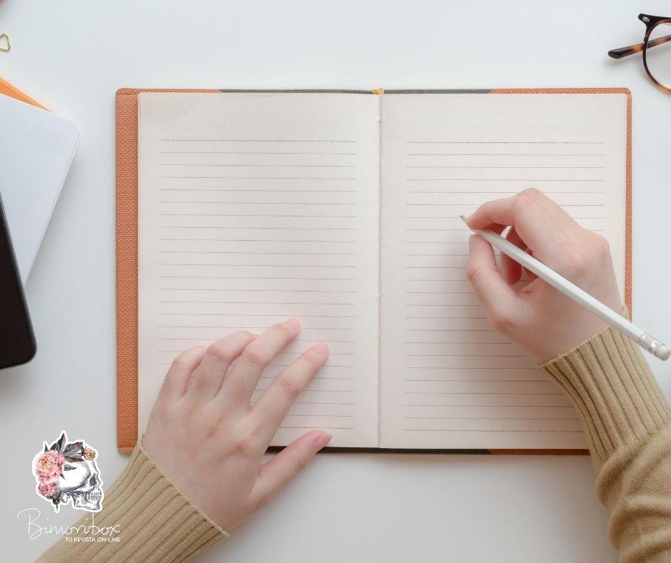 cómo hacer una empresa escribe