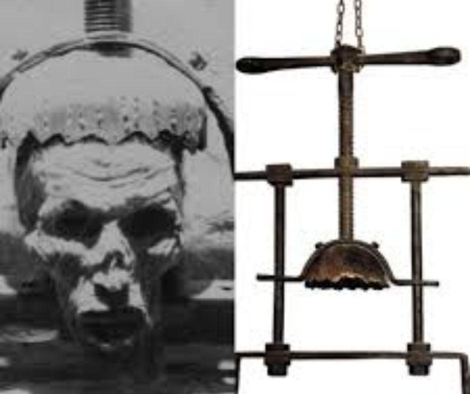 tortura aplasta cabeza