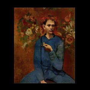 Picasso muchacho con pipa
