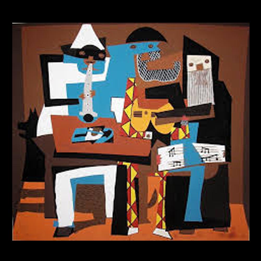 Picasso los tres músicos
