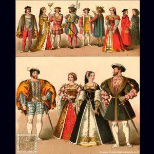 Renacimiento vestuarios