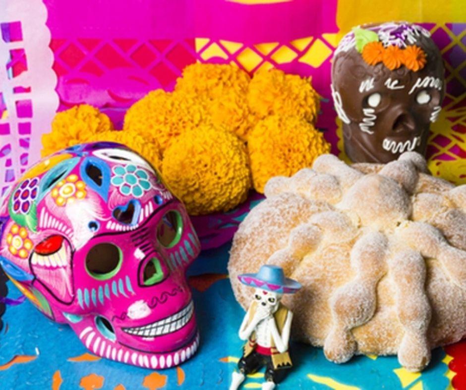 Día de Muertos decoracion