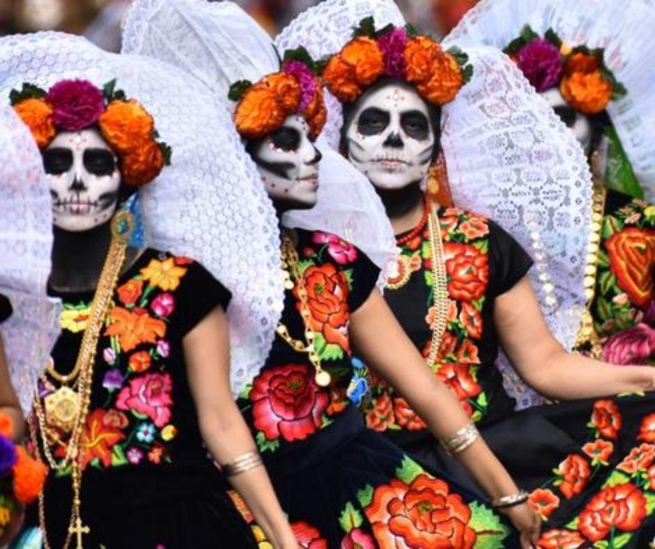 Día de Muertos catrinas