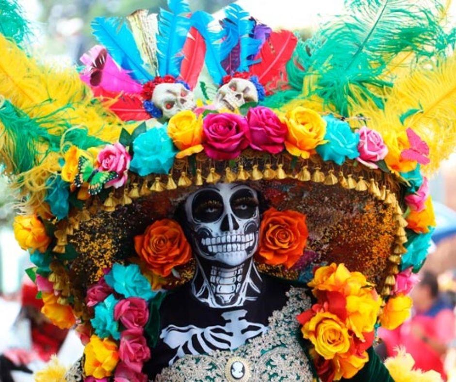 Día de Muertos mujer
