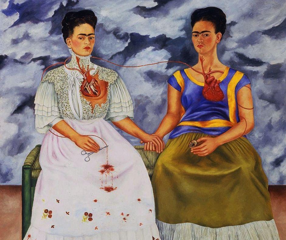 Frida Kahlo dos fridas