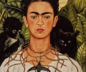 Frida Kahlo mujer y animales