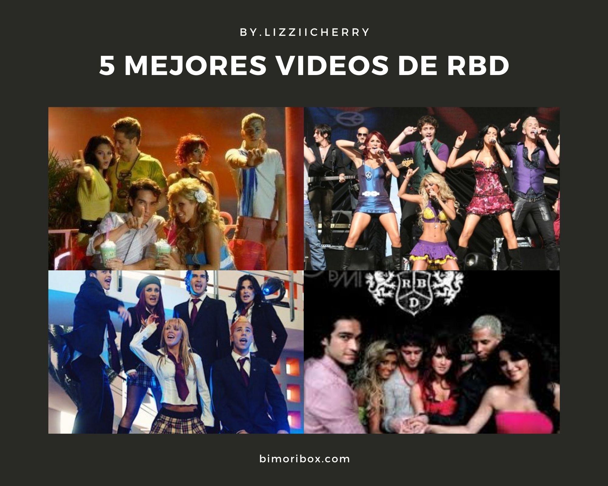 LOS 5 MEJORES VIDEOS DE RBD | #RBDSALVAMEDEESTE2020
