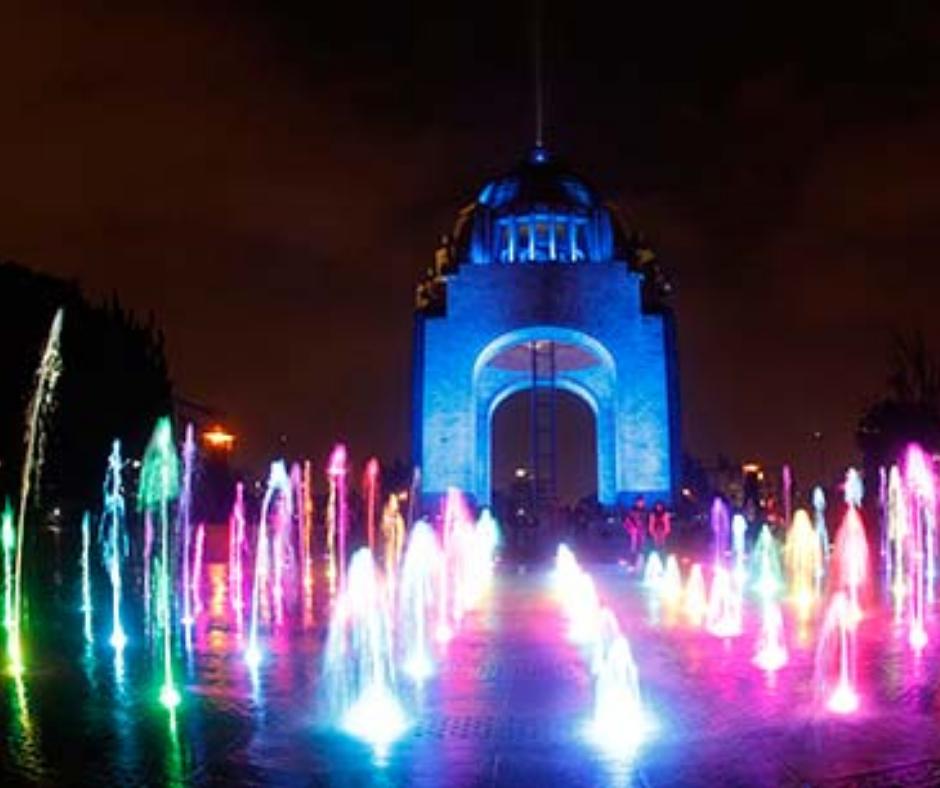 monumentos de México luces