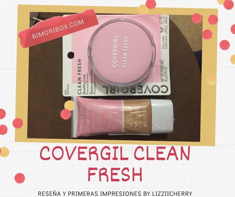 COVERGIRL CLEAN FRESH | RESEÑA Y PRIMERAS IMPRESIONES CON FOTOS