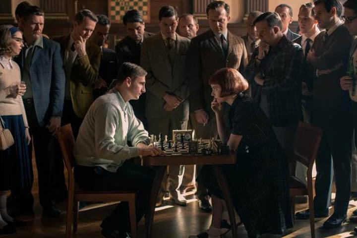 series de Netflix juego de ajedrez