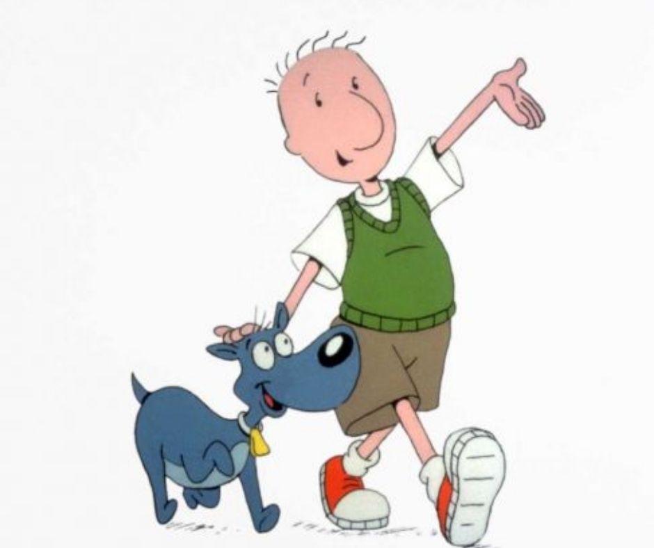 las mejores caricaturas niño y perro