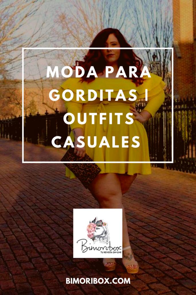 MODA PARA GORDITAS OUTFIT CASUAL