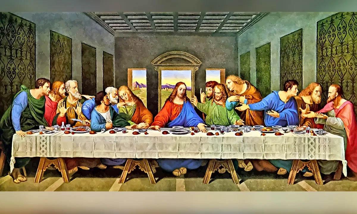 La última cena pintura famosa