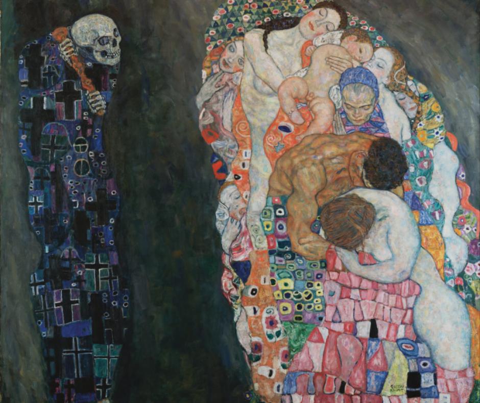 Gustav Klimt la vida y la muerte