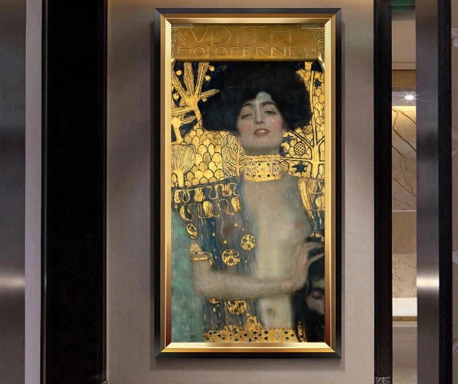 Gustav Klimt pintura