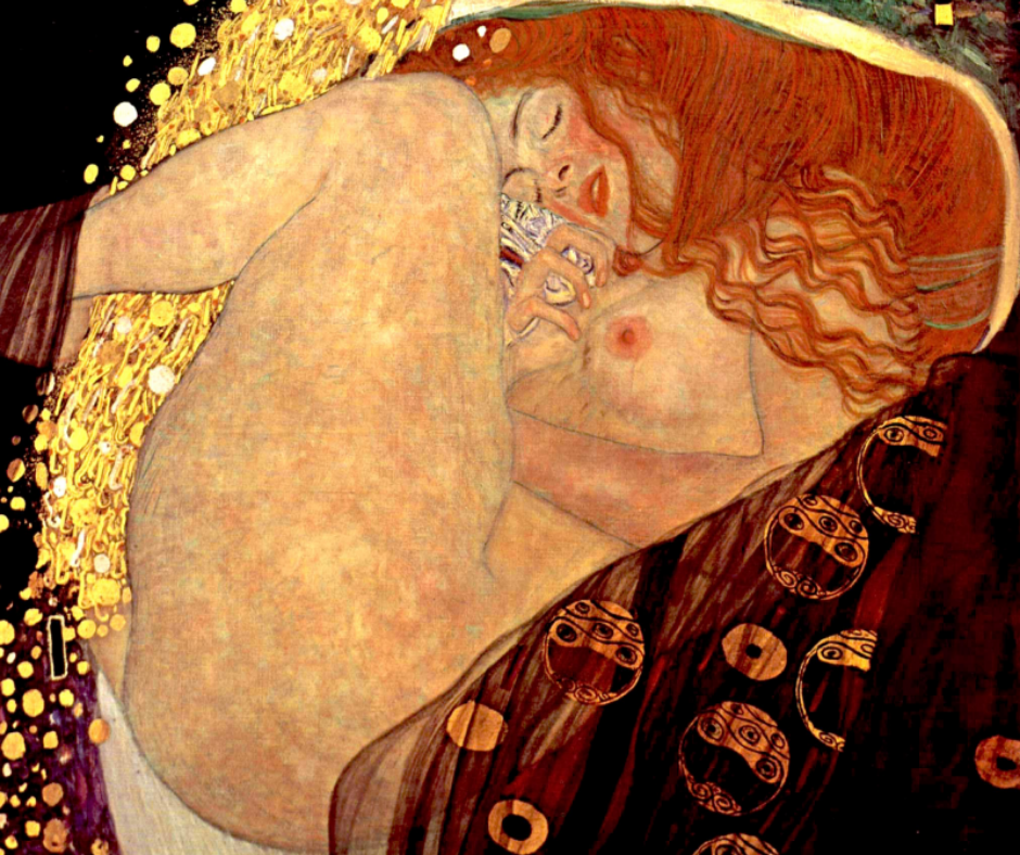 Gustav Klimt mujer
