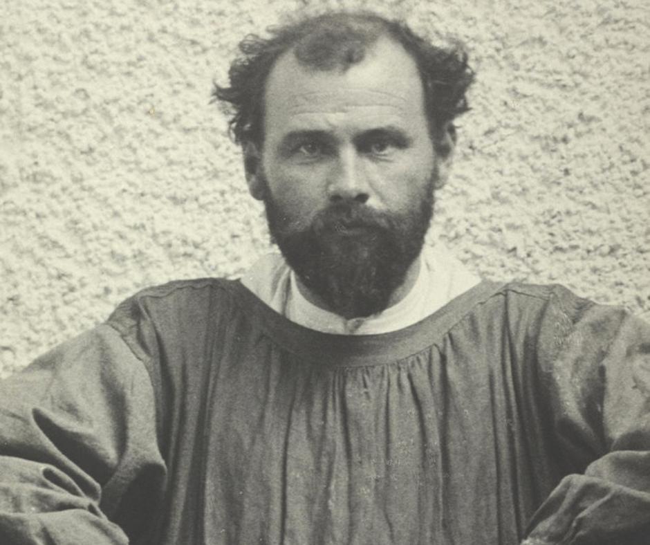Gustav Klimt retrato