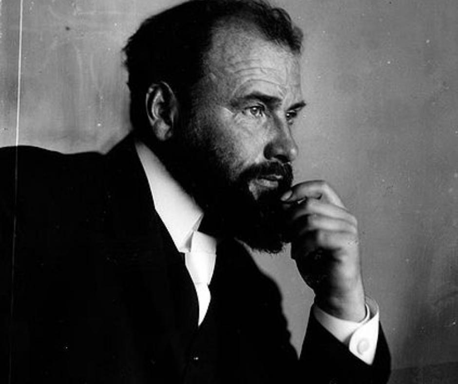 Gustav Klimt hombre