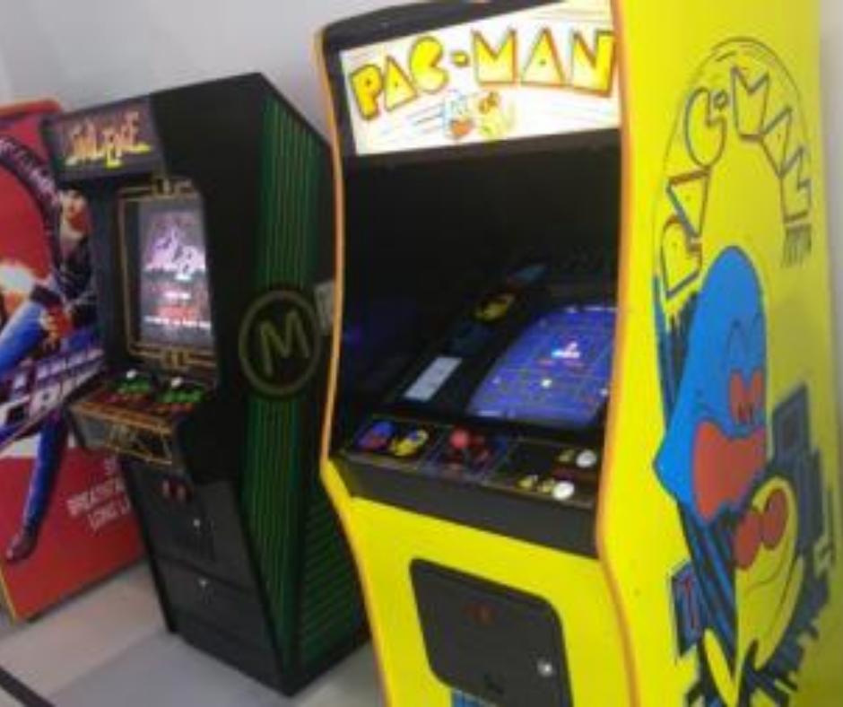 videojuegos maquina de juegos