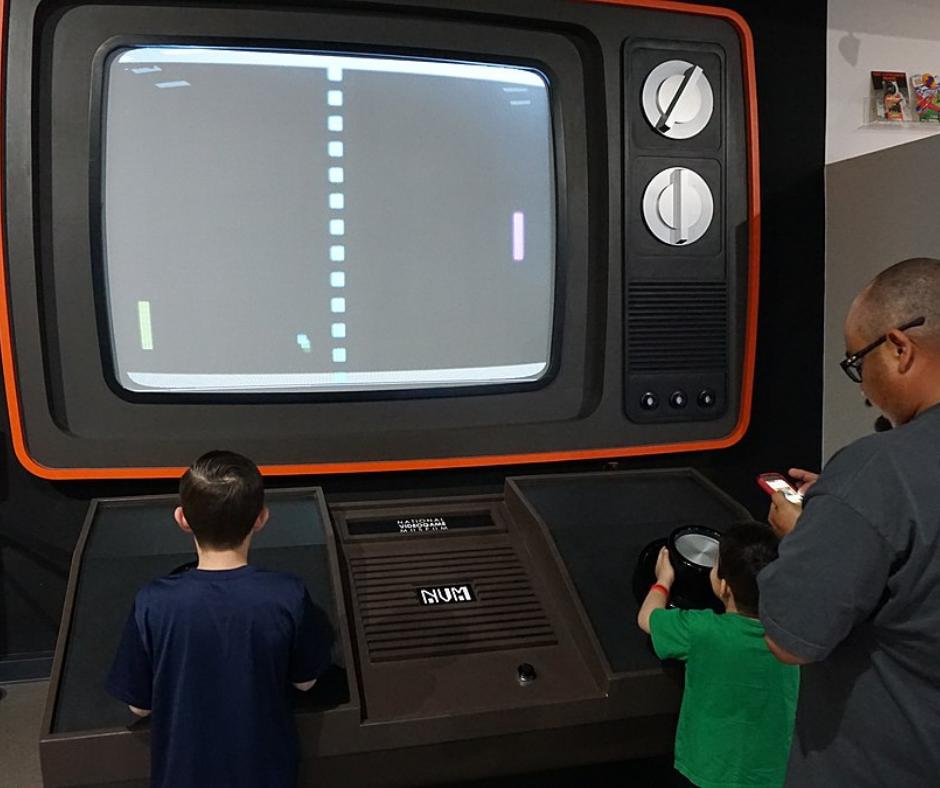 videojuegos niños jugando