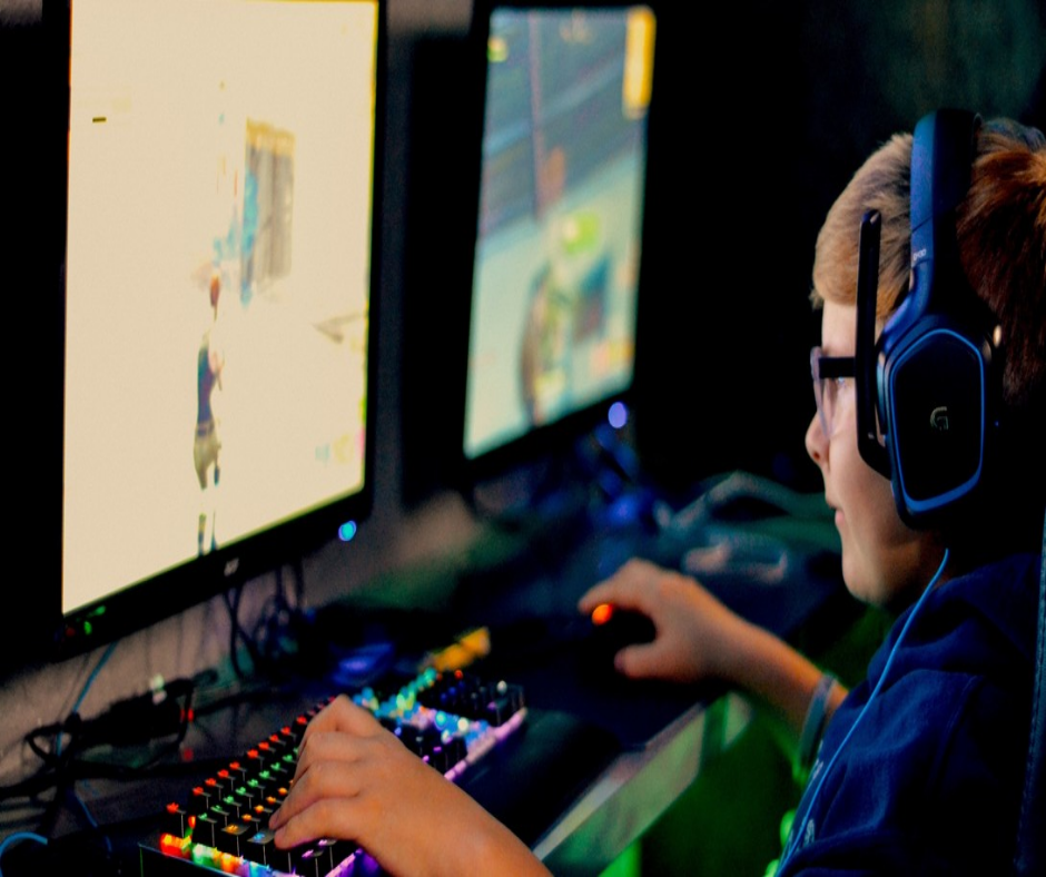 videojuegos niño jugando