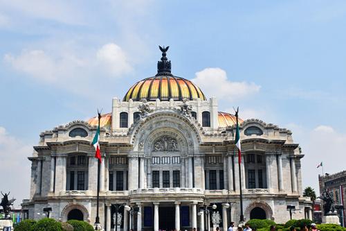 diseños de arquitectura Bellas Artes