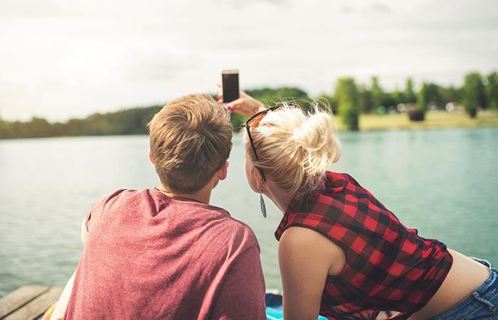 amor en MIllennials pareja