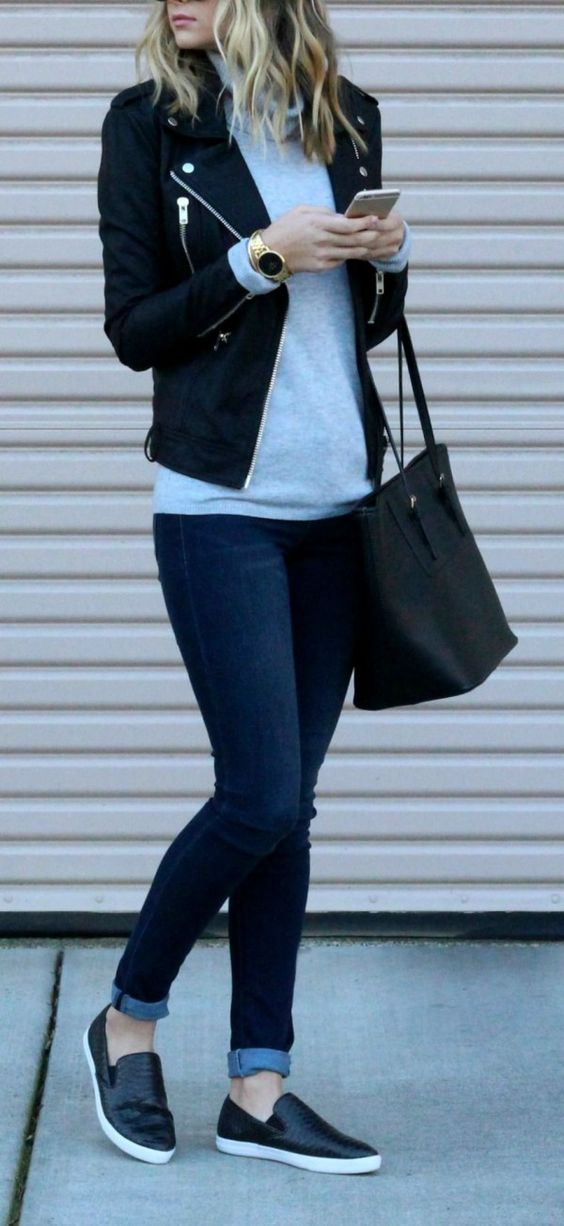 OUTFIT OFICINA CASUAL JEANS