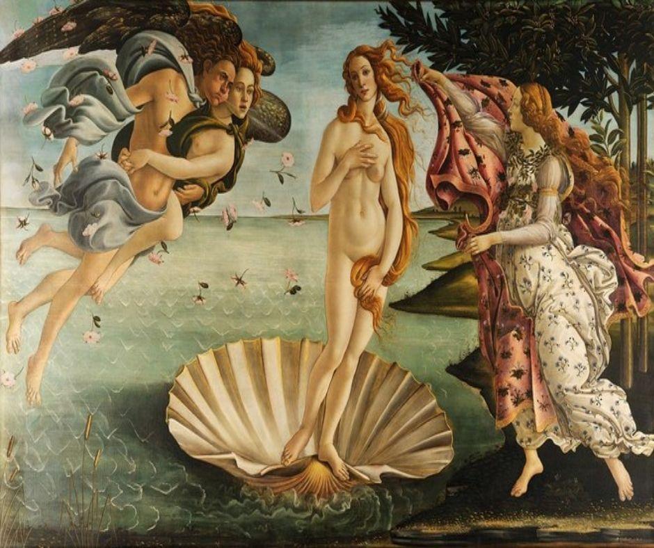 Sandro Botticelli obra de arte