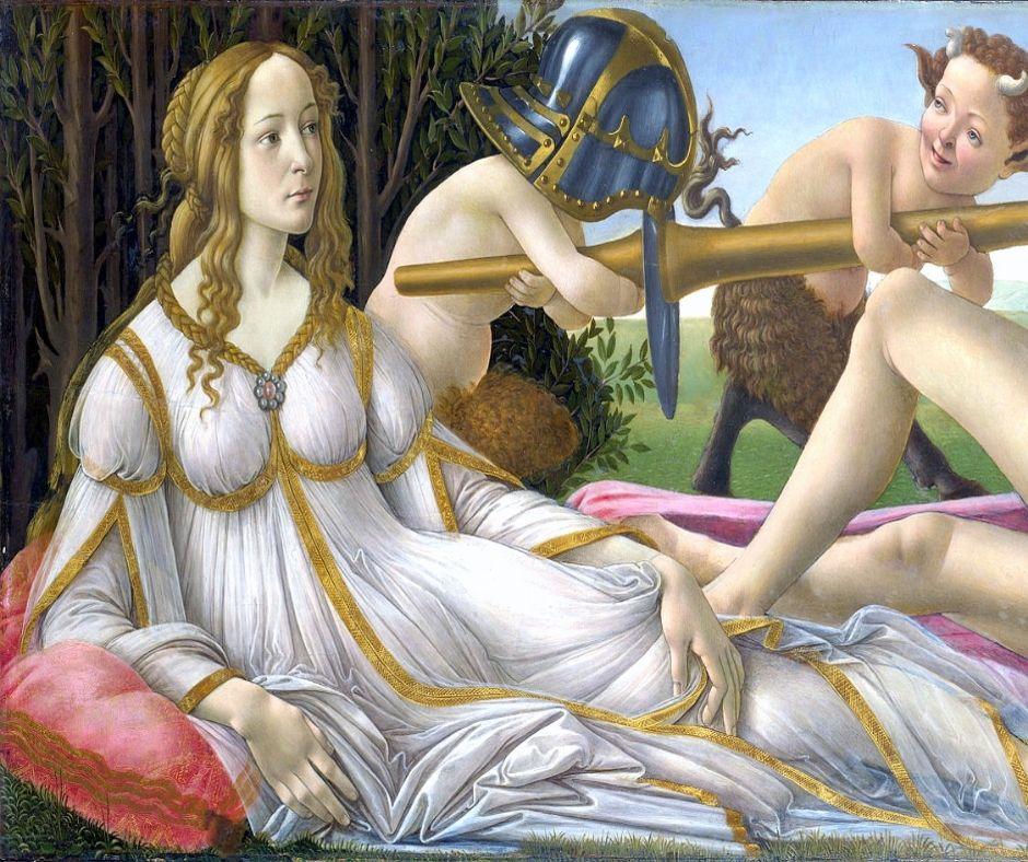 Sandro Botticelli mujer