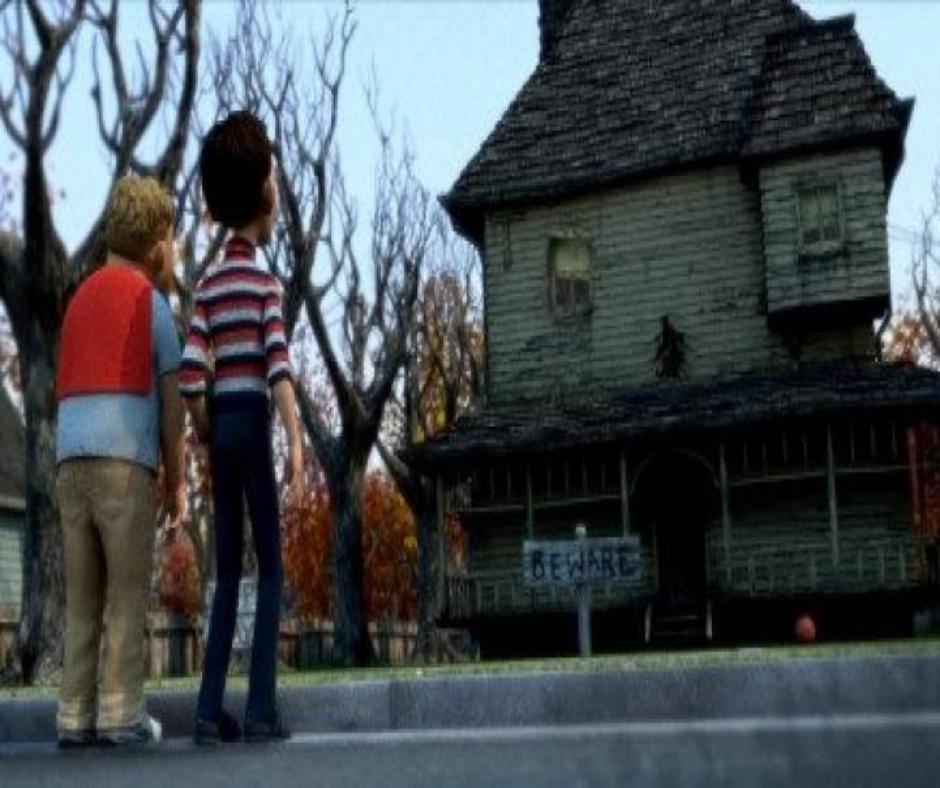 películas de terror niños y casa