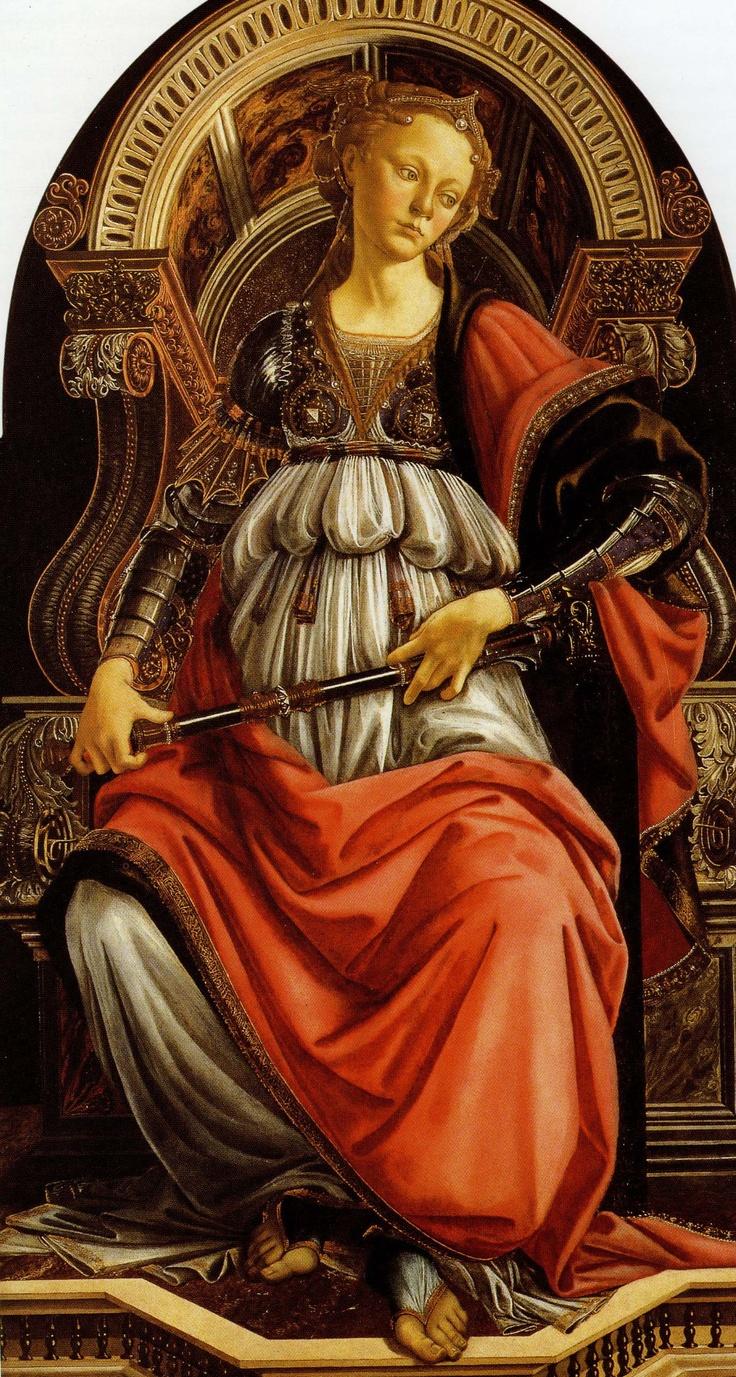 Sandro Botticelli guerrera