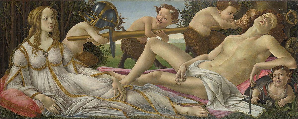 Sandro Botticelli pintura